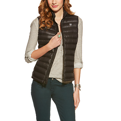 Ariat Womens Ideal Down Filled Vest - Black