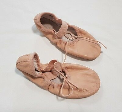 Bloch Ballet Shoes Slippers Leather Toddler Girls Size 9A