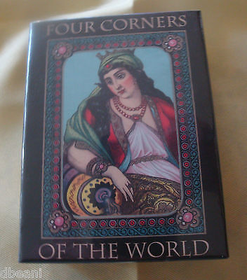 Vintage Reproduction  Four Corners of The World Deck Playing Cards Made USA New