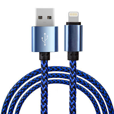 iPhone Braided Nylon USB Charger Cable for iPhone 7 Plus 6 5s SE 3ft | 6ft