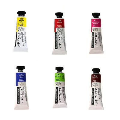 Daler Rowney Artist's Quality Watercolour Paint 15ml Tubes (Clearance)