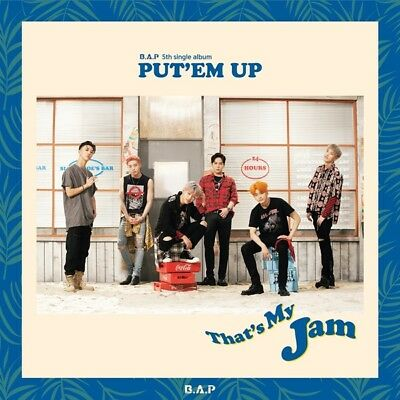 B.A.P [PUT'EM UP] 5th Single Album CD+Photo Book+Photo Card K-POP SEALED BAP