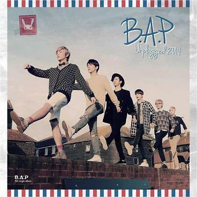 B.A.P [UNPLUGGED 2014] 4th Single Album CD+Photo Book+PhotoCard K-POP SEALED BAP