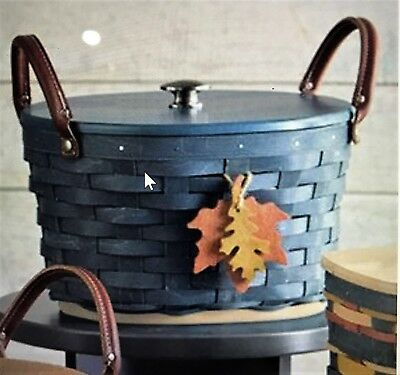 🎃 Longaberger 2017 Fall Harvest Basket SET w/ Lid & Protector ~W/ color choice