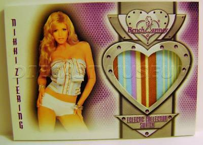 Nikki Ziering Bench Warmer Authentic Swatch 2016 #126 Eclectic Collection Rare