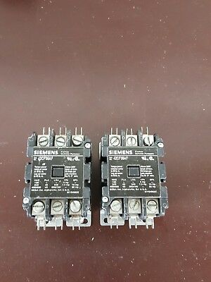 NEW Siemens 42CF35AF Lighting Contactor 3P 40A 120V (FREE SHIPPING)
