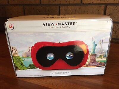 View-Master Virtual Reality Starter Pack. VR Gear. Aus Seller.