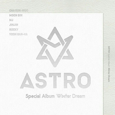 ASTRO [WINTER DREAM] Special Album CD+POSTER+Photo Book+Post Card+Card SEALED