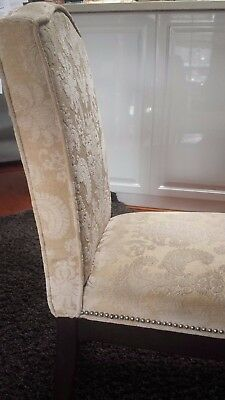 Fully Upholstered Dining Room Chairs X 4
