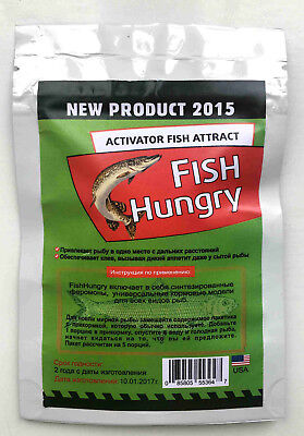 FISH HUNGRY Bait Activator. Original Liquid Attractant Pheromone