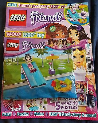 LEGO Friends issue  36  With free gift
