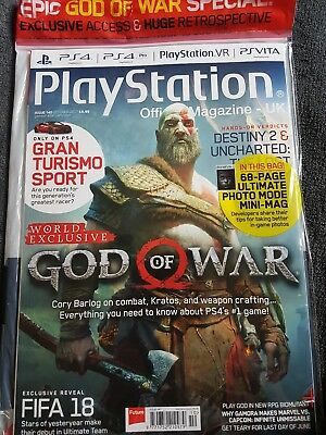 PLAYSTATION OFFICIAL MAGAZINE UK - ISSUE 140  2017 God of war special