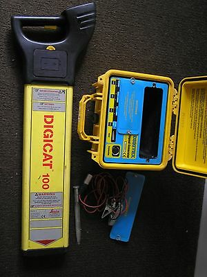 digicat 100 ezicat radiodetection cat genny cable avoidance scan LED SCREEN