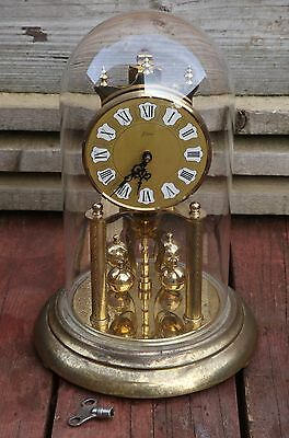 KERN 400 DAYS ANNIVERSARY CLOCK. Made in Germany. With key.
