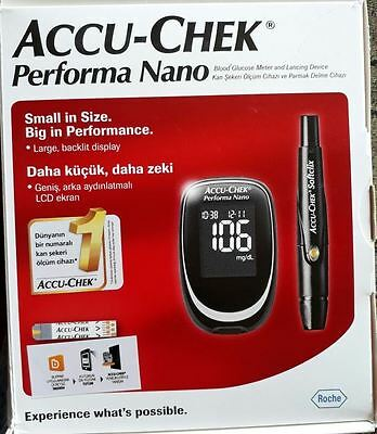 One ACCU-CHEK-PERFORMA NANO METER (Blood Glucose Meter)