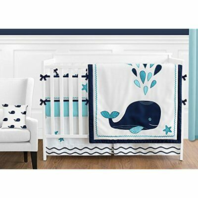 Turquoise, Bedding Sets Navy Blue And White Whale Nautical Ocean Baby Boys Or