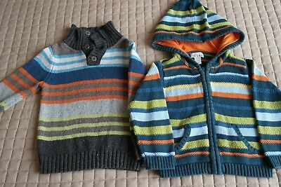 Boy's Knitted Cardigans Jumpers Sweaters 18-24