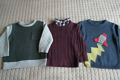 Next F&F Boy's Cardigans Sweaters Jumpers 12-18