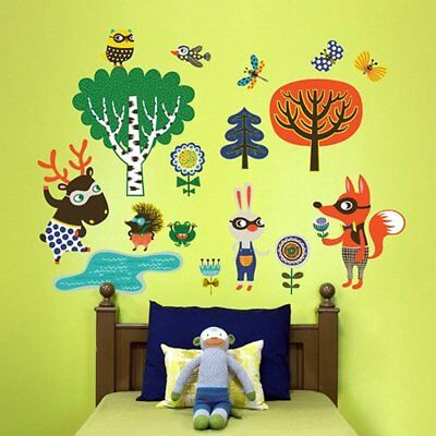Oopsy Wall Dcor Daisy Peel And Place Funky Woodland Creatures Boy By Helen 54