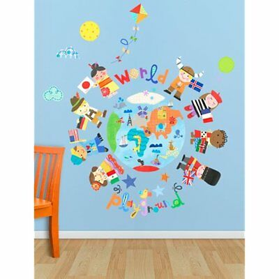 Oopsy Wall Stickers & Murals Daisy The World Is Your Playground Peel And Place,