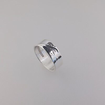 alten Silber Ring Design Finnland Aleksi Saviala 1965 finish Jewelry 59,5