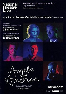 Angels in America (NTL) A5 Poster (2017) - Andrew Garfield, Nathan Lane