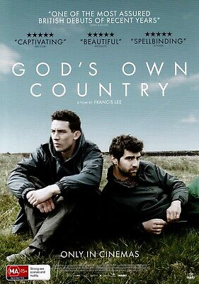 God's Own Country A5 Poster (2017) - Josh O'Connor, Alec Secareanu, Ian Hart