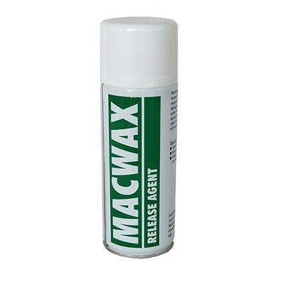 MAC WAX Mould Release Spray for Silicone 400ml Can - Macwax