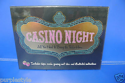 Casino Night 5 Casino Games In One New Sealed