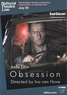 Obsession (NTL) A5 Poster (2017) - Jude Law