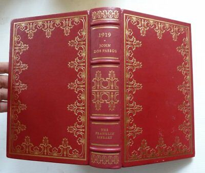 The Franklin Library, 1919 By John Dos Passos, 1978, Fine Condition