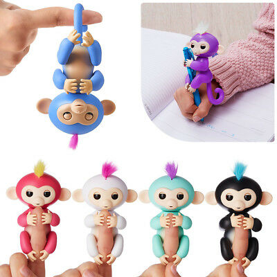 Fingerlings Interactive Baby Monkey Toy Zoe Sound Finger