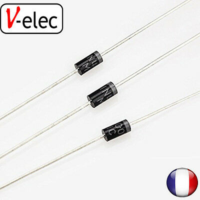 4050# IN4007 1N4007 4007 1A 1000V DO-41 Rectifier Diode s-elec