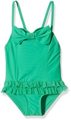 Angels Face Roma Bathing Suit, Nuoto Bambina, Green (Jade Green), 4-5 Anni