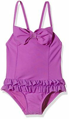 Angels Face Roma Bathing Suit, Nuoto Bambina, Purple (Magenta), 2-3 Anni