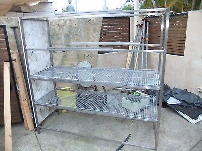Large  Stainless  Steel  Rack  Great  For  Storing  Ex-Bakery $50 Delivered