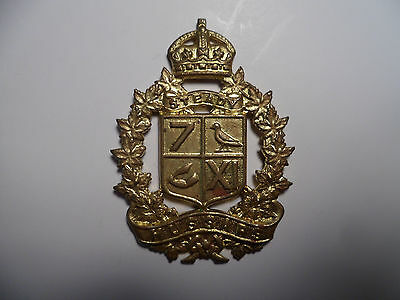 Canadian Army 7th/11th Hussars Cap Badge