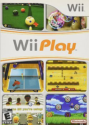 Wii Play Video Game For Nintendo Wii Console System