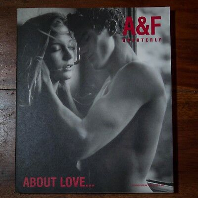 Abercrombie & Fitch A&f Quarterly- Spring Break 2002- About Love- Very Good Cond