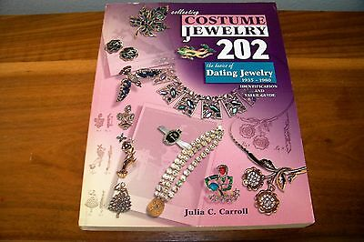 Identification/price Guide Book Collecting Costume Jewelry 202, 1935 To 1980