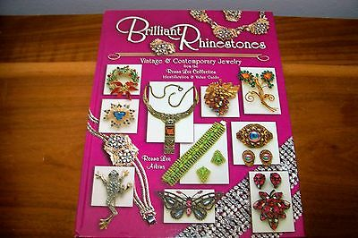 Identification/Price Guide Book On Brilliant Rhinestones Vintage An Contemporary