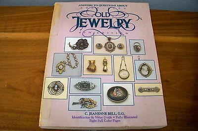 Identification/price Guide Book Collectible  Old Jewelry