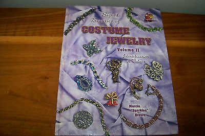 Identification/price Guide Book On Signed Beauties Of Costume Jewelry Volume Ii