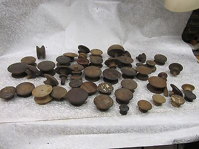 Lot of 50 Vintage  Assorted Wood  Drawer Pulls no junk