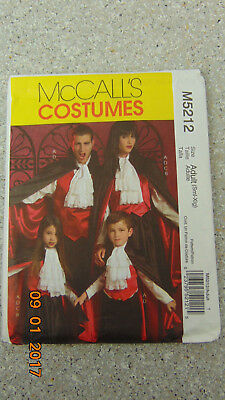M7821 McCall/'s 7821 SEWING PATTERN Men Costume Duster Coat Vest Modern Vampire