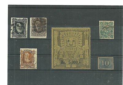 (cb-s-96)stamps, Brazil.Bolivia,Colombia,nice selection,used/unused as scans