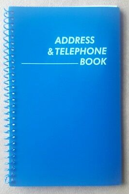 New Dark Blue Address and Telephone Book