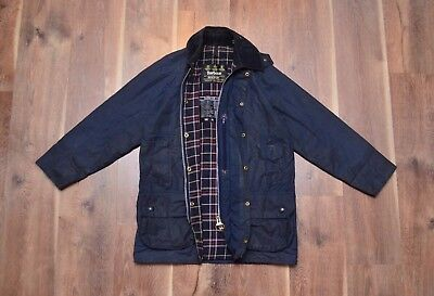 Barbour Men's Beaufort Vintage Waxed Jacket S Fishing Hunting
