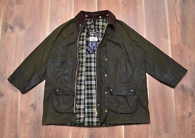 Barbour Men's Gamefair A123 Waxed Jacket C50/127CM Fishing Hunting Mint