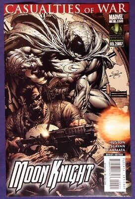 MOON KNIGHT 9 May 2007 9.2-9.4 NM-/NM MARVEL COMICS PUNISHER CASUALTIES OF WAR!!